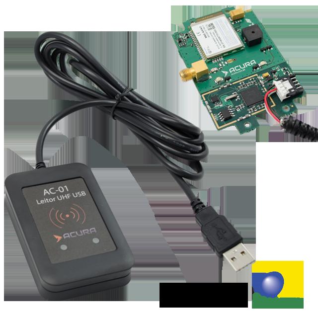 Leitor AC-01 v2 USB